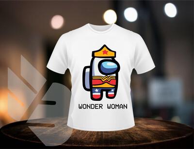 Among Us Wonder Women shirts