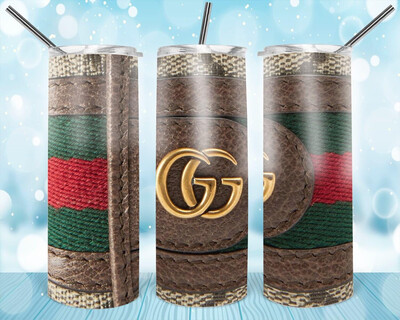 Leather Look CG Stripe Tumbler