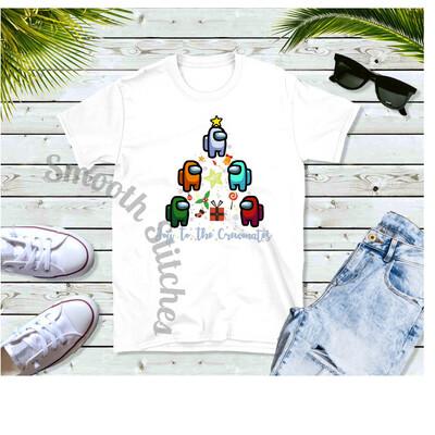 Among Us Christmas Tree shirts