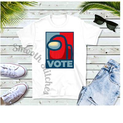 Among Us Vote shirts