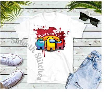 Among Us Crewmate shirts