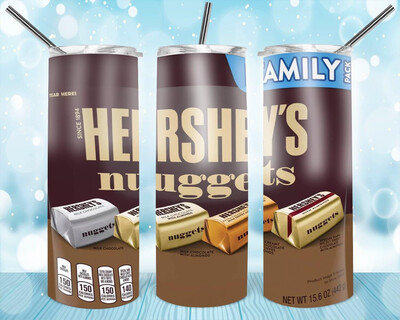 Hershey's Nuggets Label Tumbler