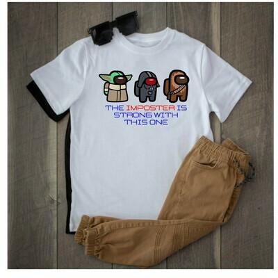 Among Us Star Wars Imposter shirts