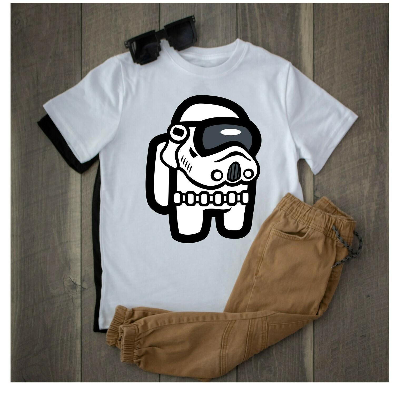 Among Us Storm Trooper shirts