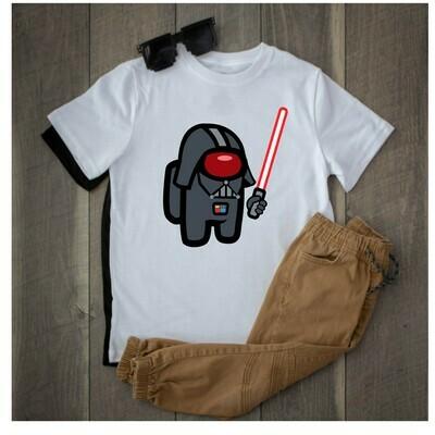Among Us Star Wars Vader shirts