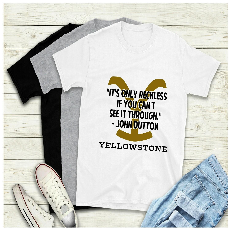 John's Advice Yellowstone Ranch Shirt