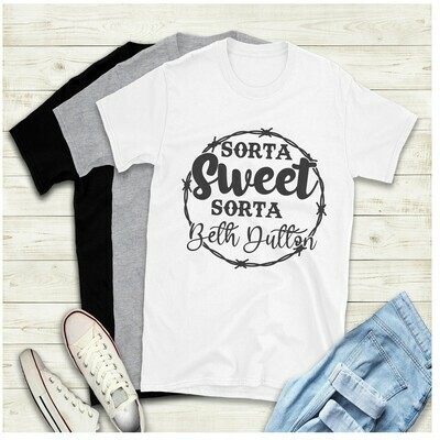Sweet Beth Barb Wire Yellowstone Ranch Shirt