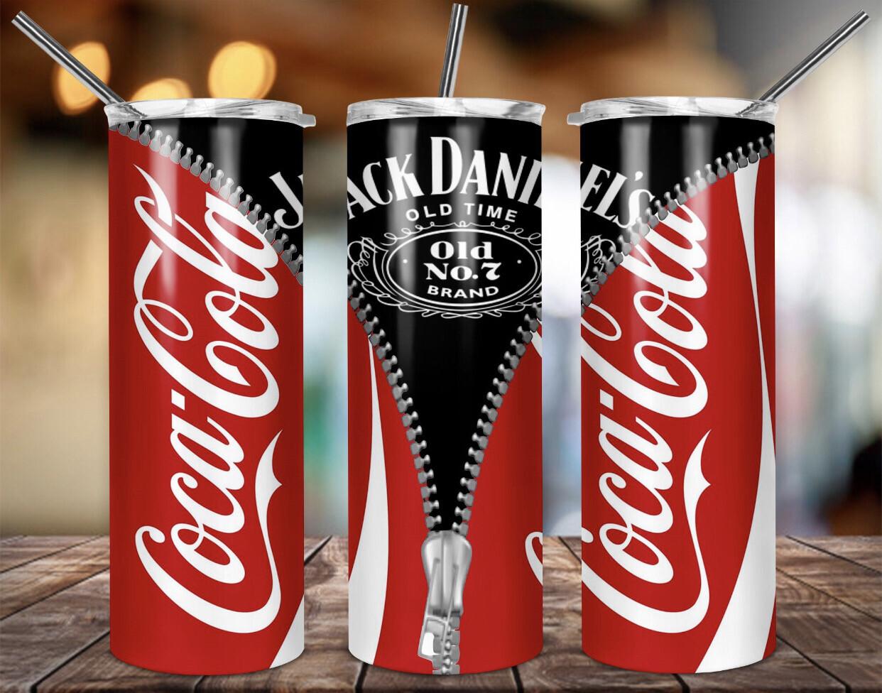 Coke/Jack Daniels Tumbler