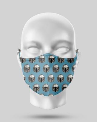Star Wars Mandalorian Face Mask