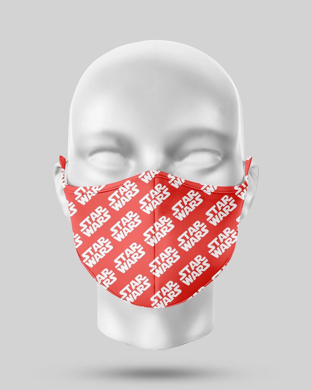 Star Wars Red Logo Face Mask