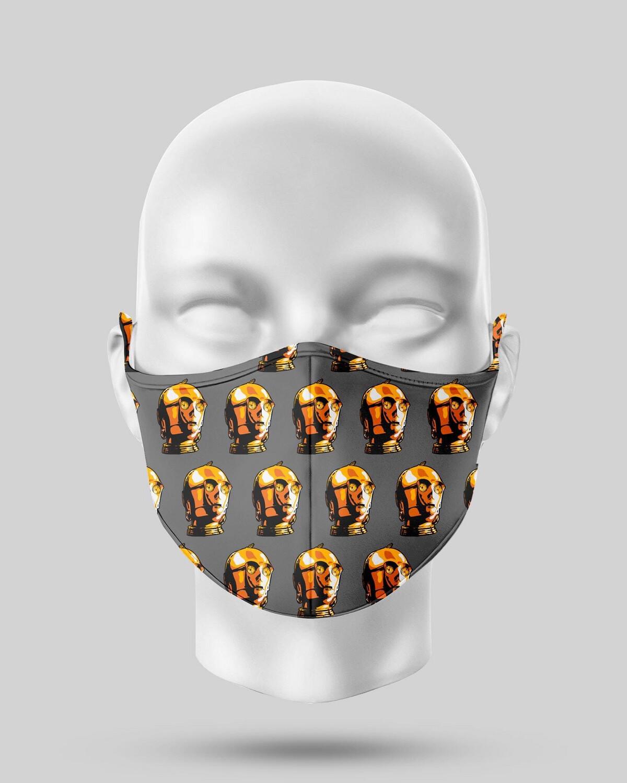 Star Wars C3P0 Face Mask