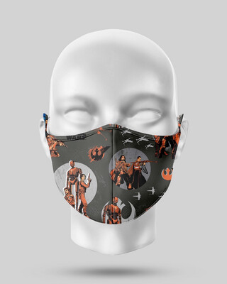 Star Wars Black Rogue One Face Mask