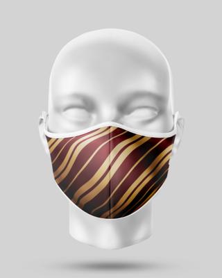Harry Potter Gryffindor Stripe Face Mask