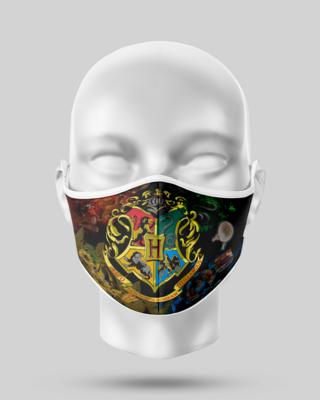 Harry Potter black Hogworts crest Mask
