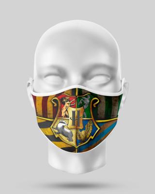 Harry Potter Hogwarts Crest Face Mask