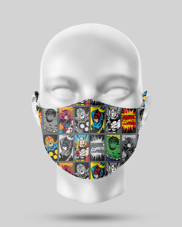 Superhero Face Mask