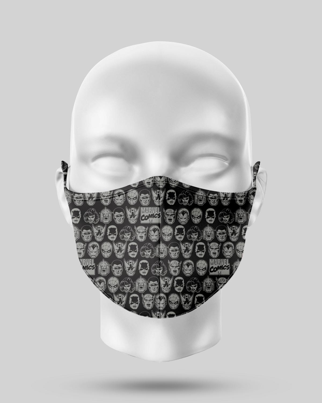 Black             Avengers Face Mask