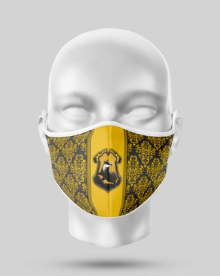Harry Potter Hufflepuff Face Mask