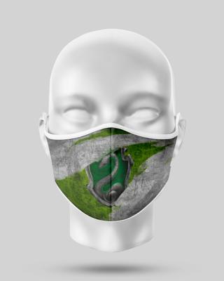 Harry Potter Slytherin flag Face Mask