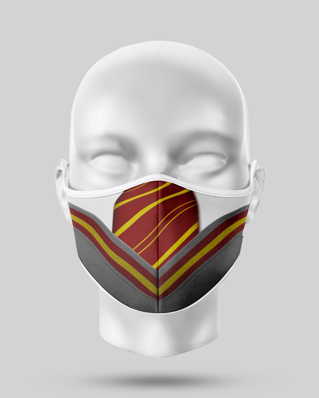 Harry Potter Gryffindor Tie Face Mask