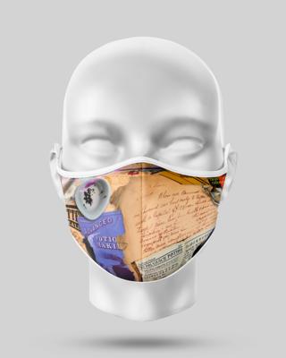 Harry Potter Letter Face Mask