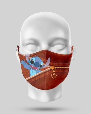 Zipper Stitch Face Mask