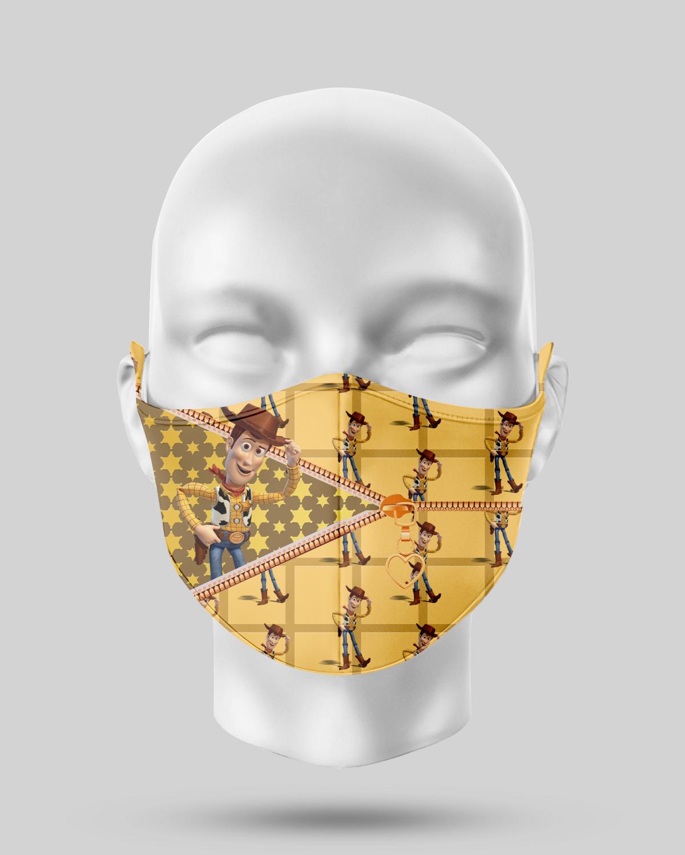 Zipper Woody Face Mask