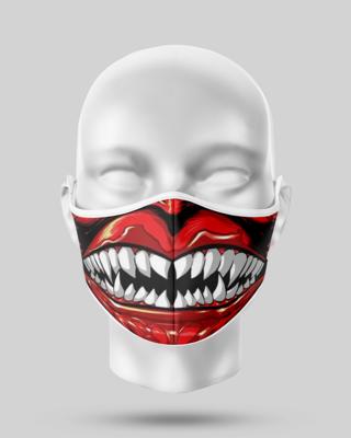 Demon Teeth Face Mask