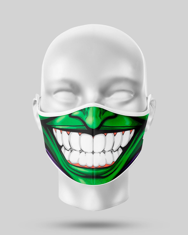 Green Goblin Teeth Face Mask
