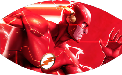 The Flash Face Mask