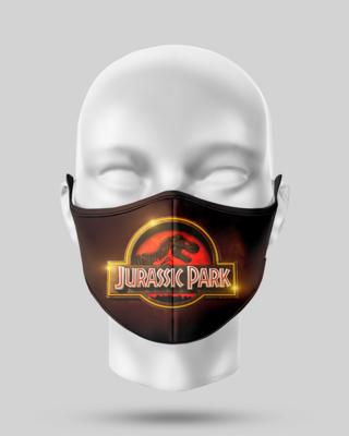 Jurassic Park Face Mask