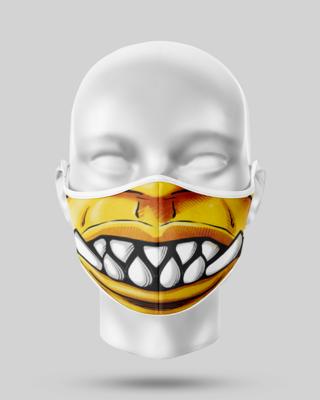 Monster Teeth Face Mask