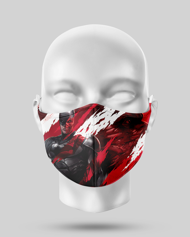 Blood Batman Face Mask