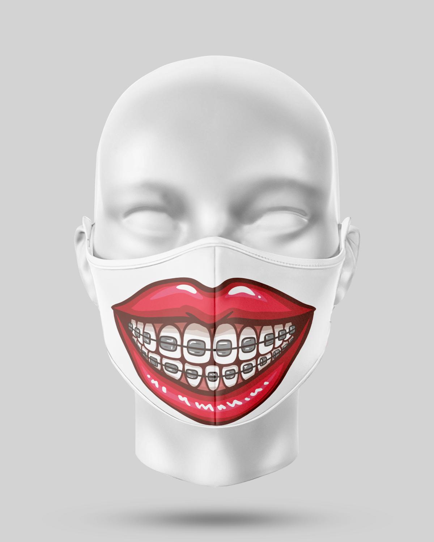 Braces teeth Face Mask