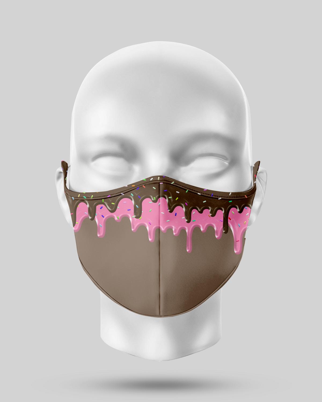 Chocolate Dropping Sundae Face Mask