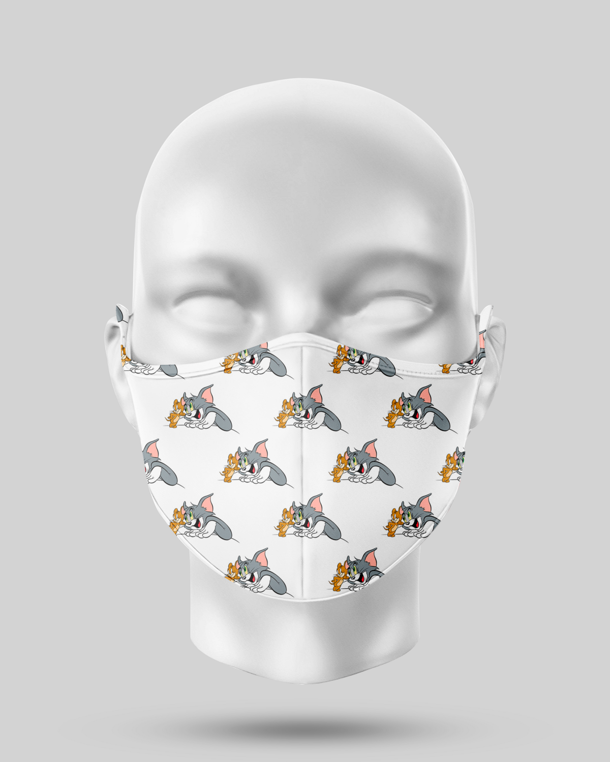 Tom and Jerry Face Mask