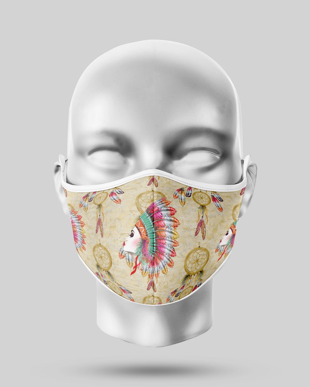 Indian Dreamcatcher Face Mask