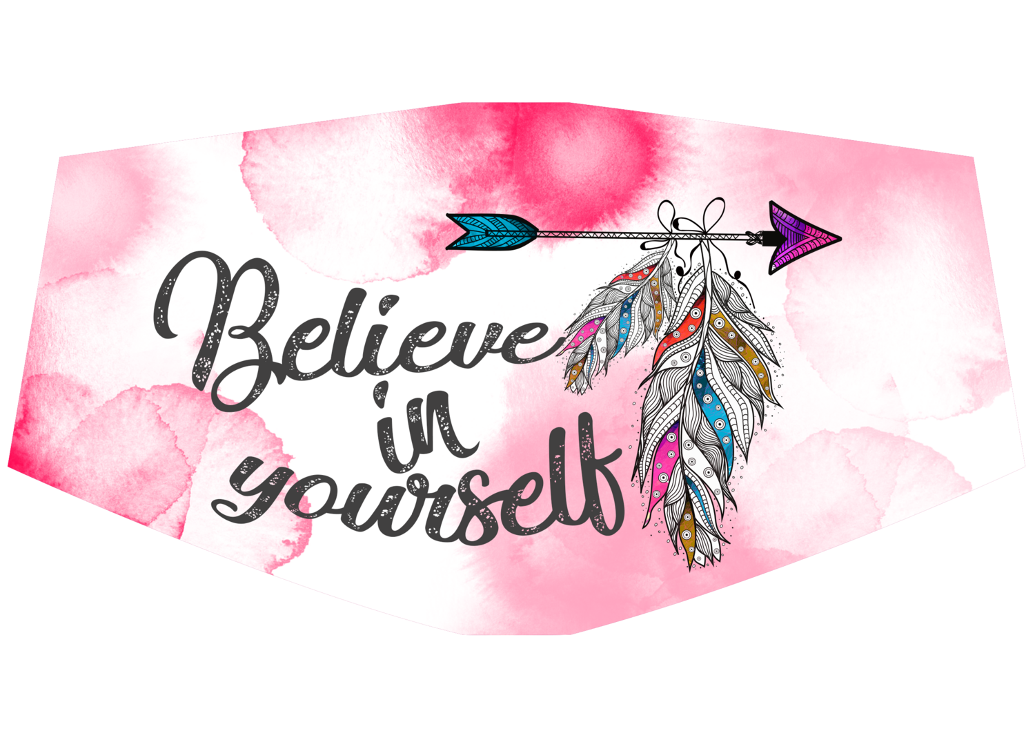 Believe in yourself Face Mask