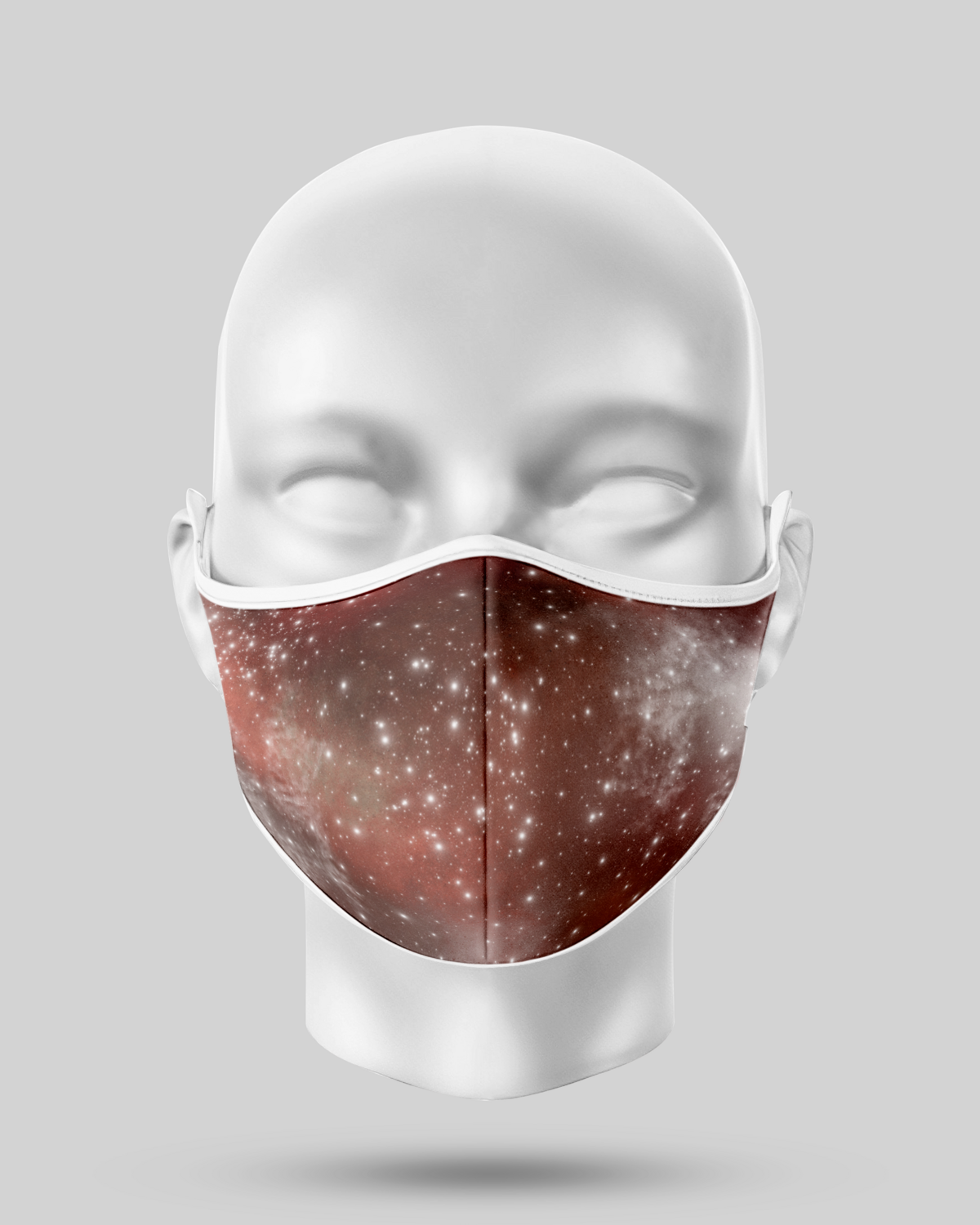 Browns Galaxy Face Mask