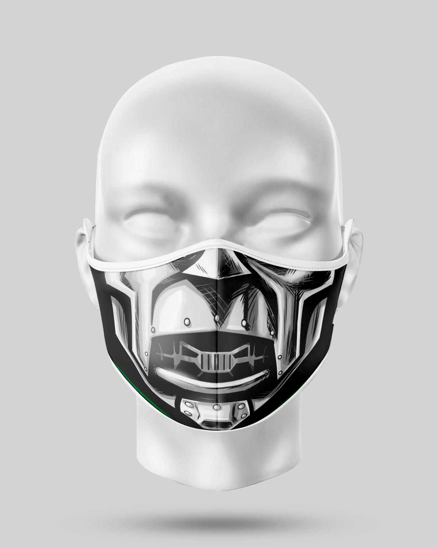 Metal Man Face Mask