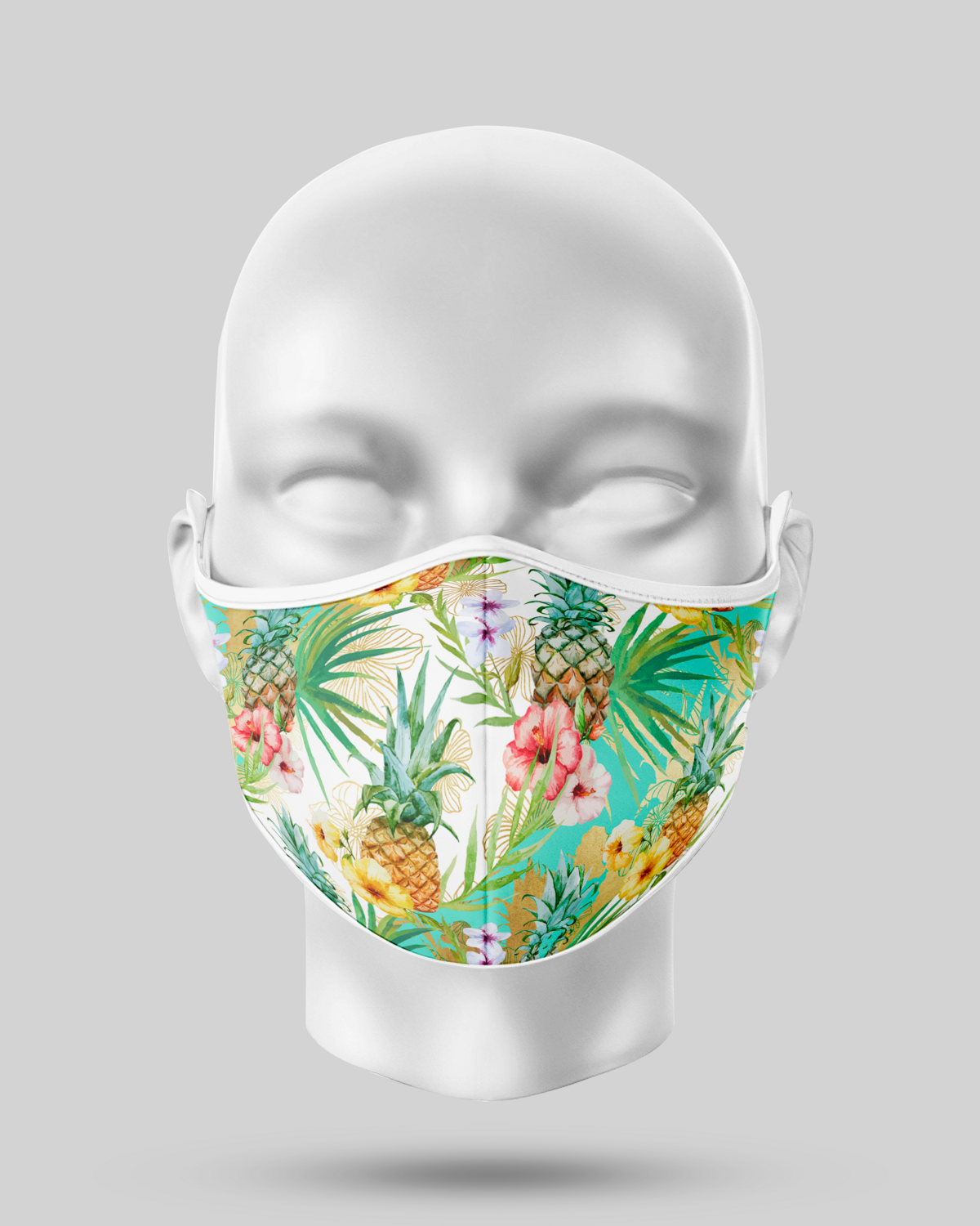 Tropical Pineapple Face Mask