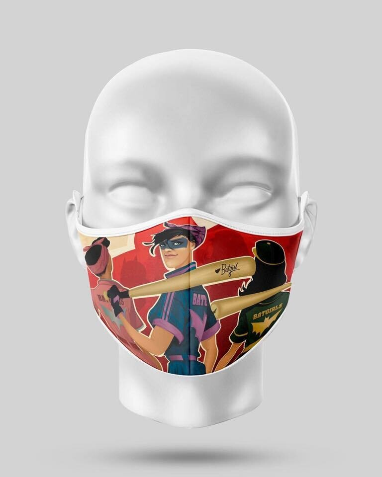 Batgirls Face Mask