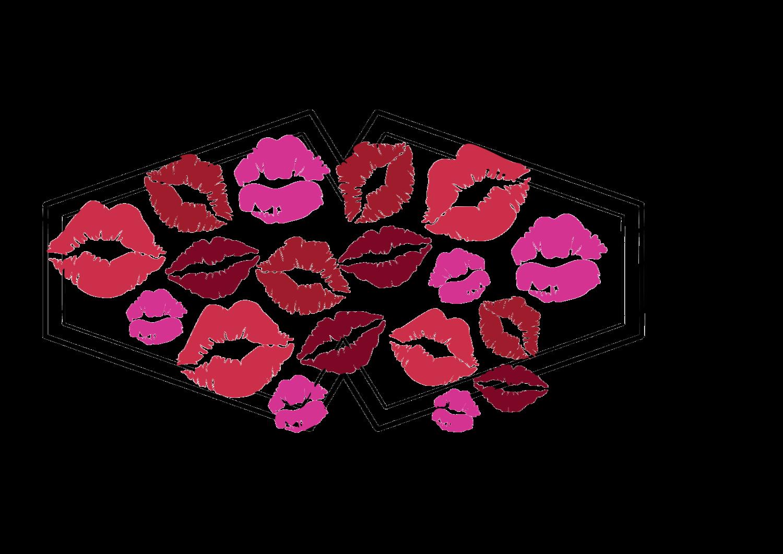 Kisses Face Mask