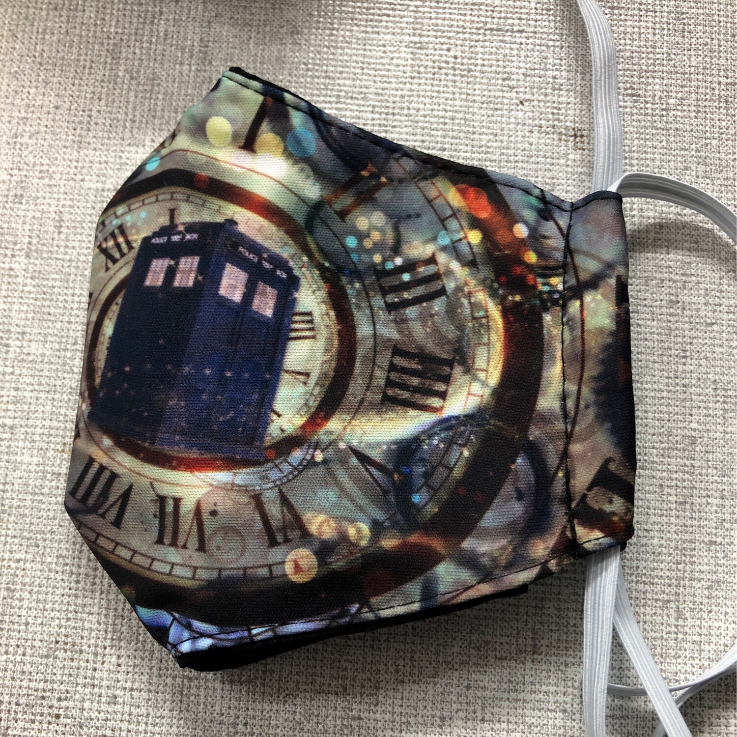 Dr Who ADULTS SIZE Face Mask
