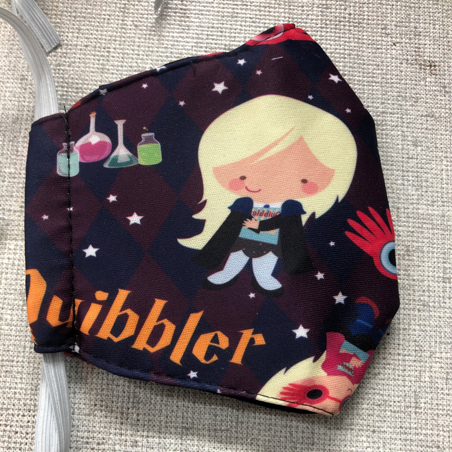 Harry Potter Quibbler ADULTS SIZE Face Mask
