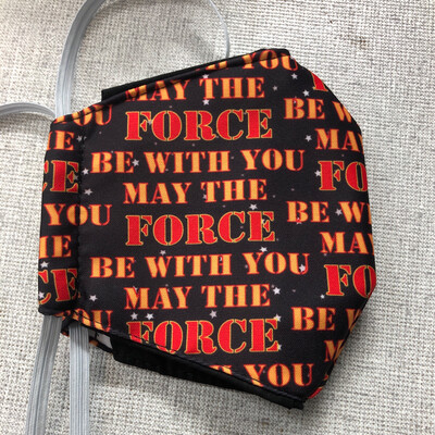 Star Wars May the Force Be With You ADULTS SIZE Face Mask