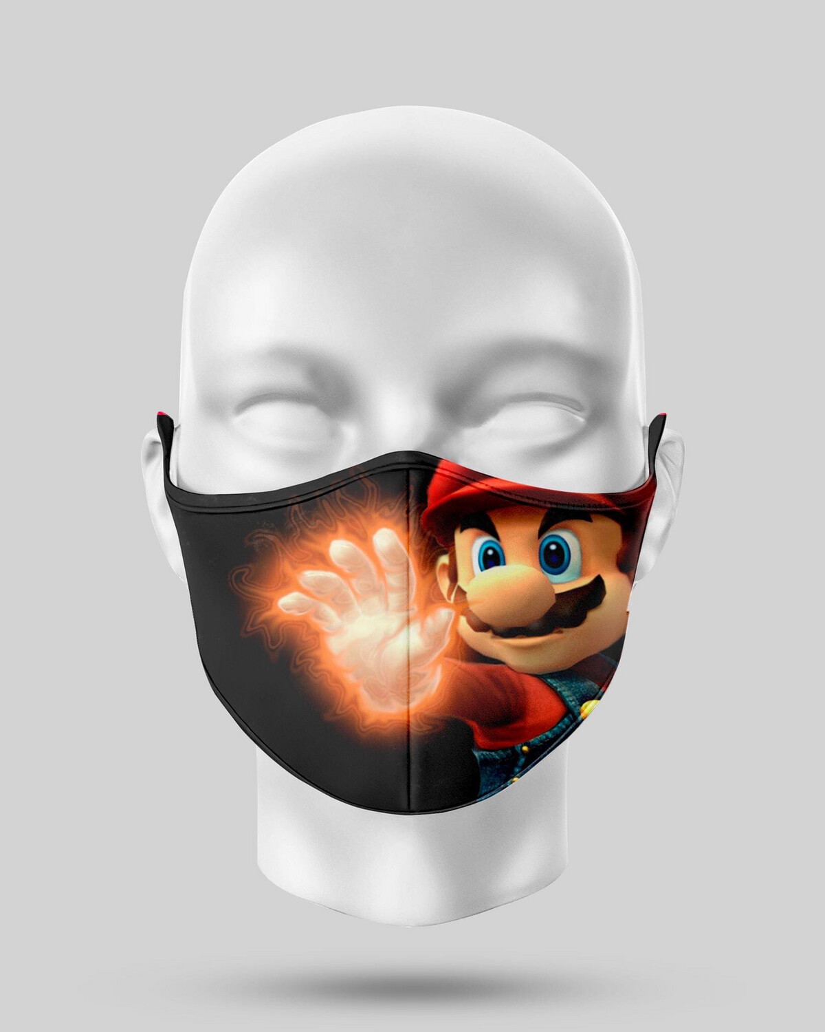 Superpower Mario Face Mask