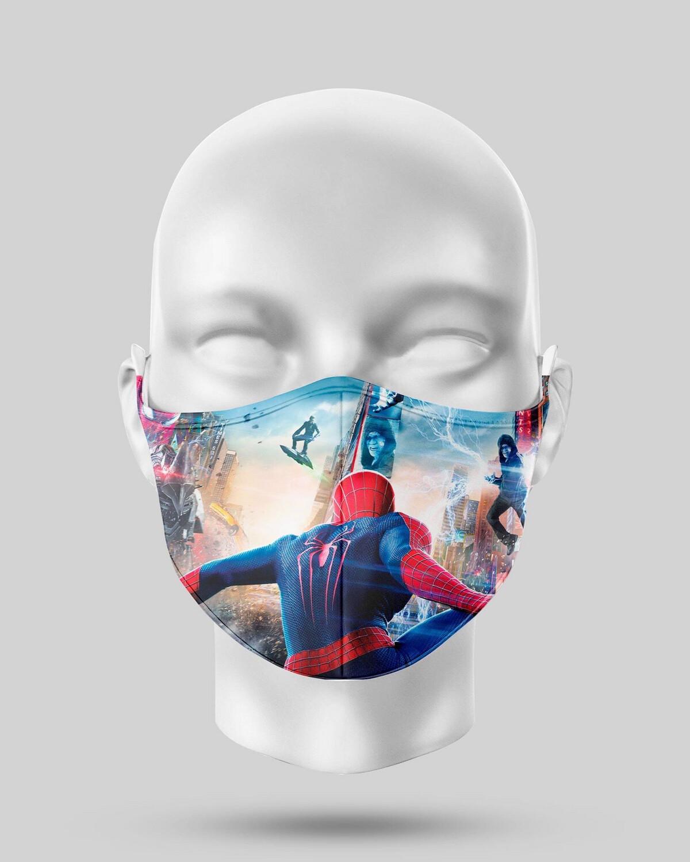 Flying Spider-Man Face Mask