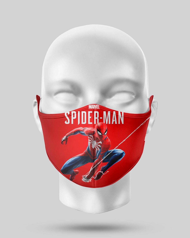 Spider-Man Face Mask