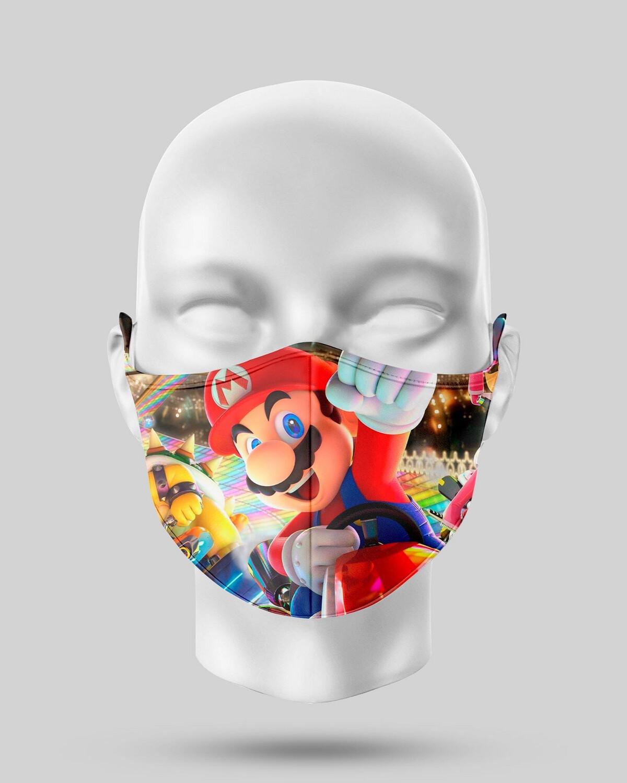 Super Mario Face Mask